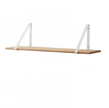 Ferm Living shelf wit/oiled oak