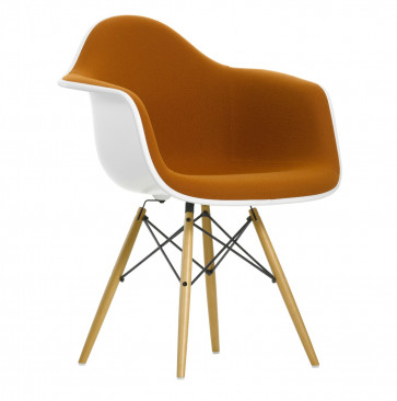 Vitra Eames Plastic Chair DAW bekleed