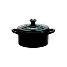 Le Creuset mini stoofpotje zwart
