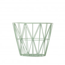 Ferm Living Wire Basket medium munt