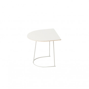 Muuto Airy Coffee Table half Size off white