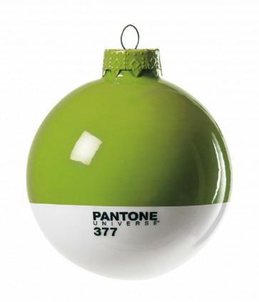 Pantone Universe kerstbal groen