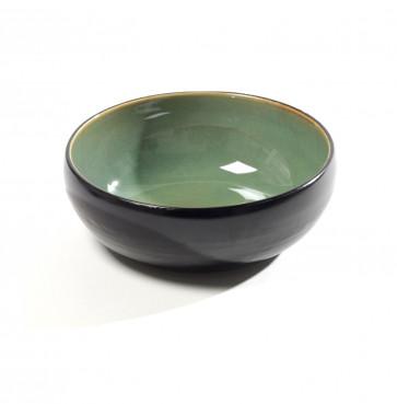 Pure by Pascale Naessens schaal groen/zwart 16 cm