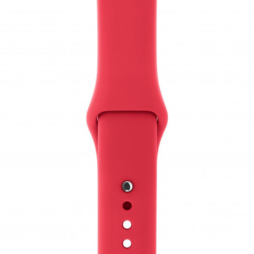 Apple Watch sportbandje frambozenrood