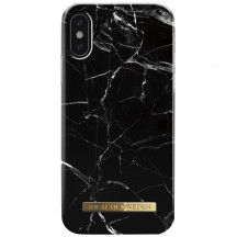 iDeal of Sweden Case iPhone X(S) black marble