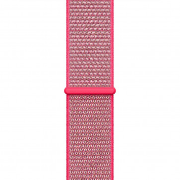 Apple Watch Geweven sportbandje knalroze