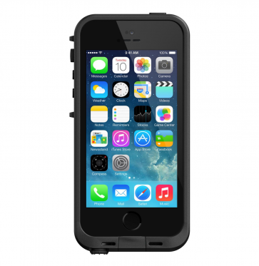 Lifeproof Fré Case zwart iPhone SE/5s