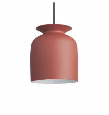 Gubi Ronde hanglamp roestrood small