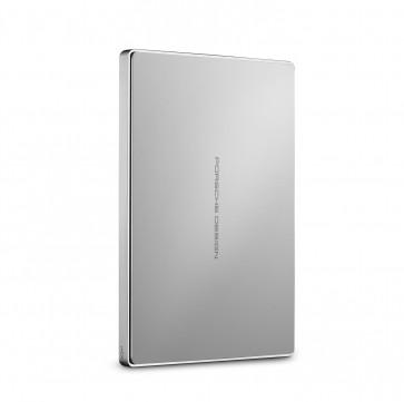 LaCie Porsche Design Mobile Drive USB-C/USB 3.0 1TB/2TB zilver
