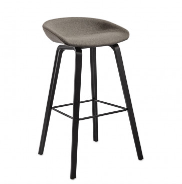 Hay barkruk About A Stool AAS33 (hout/bekleed)