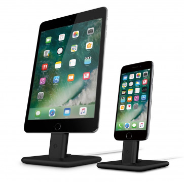 Twelve South HiRise 2 iPhone iPad iPod Lightning dock zwart