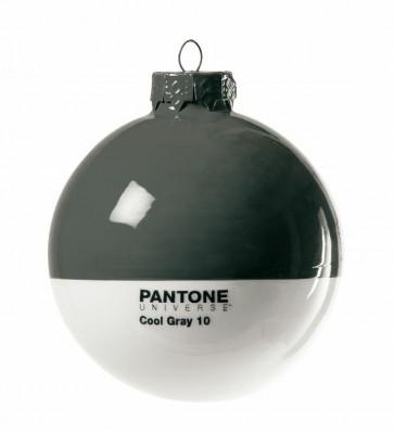 Pantone Universe kerstbal cool grey