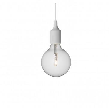 Muuto E27-lamp lichtgrijs