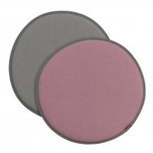 Vitra Seat Dot roze/sierra grijs - lichtgrijs/sierra grijs