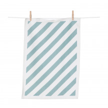 Ferm Living Keukenhanddoek Stripe munt