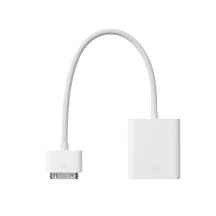 Apple dock connector naar VGA-adapter
