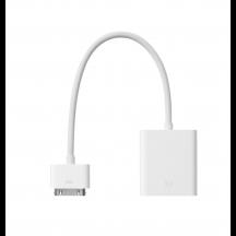 Apple dock connector naar VGA-adapter