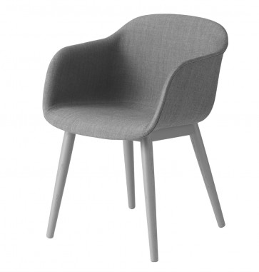 Muuto Fiber Armchair Wood Base Remix