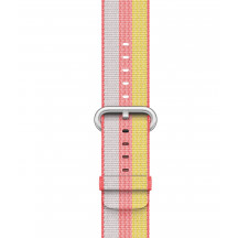Apple Watch bandje van geweven nylon rood