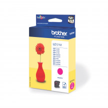 Brother inktpatroon LC121M magenta