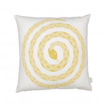 Vitra Graphic Print kussen snake mosterdgeel