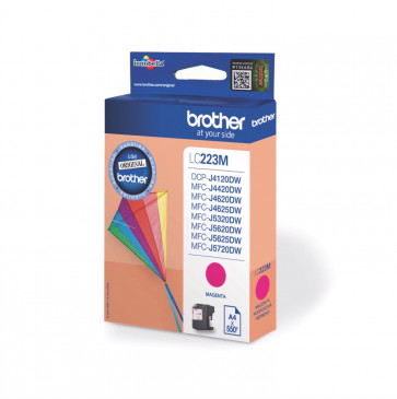 Brother inktpatroon LC223M magenta