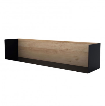 Ethnicraft U Shelf large zwart