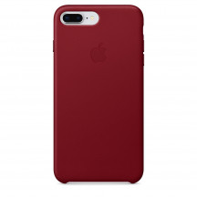 Apple iPhone 8 Plus/7 Plus leren hoesje (PRODUCT)RED
