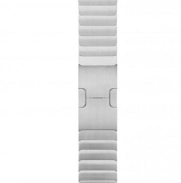 Apple Watch zilverkleurige schakelarmband