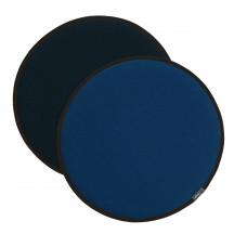 Vitra Seat Dot blauw/kokosnoot - nero/ijsblauw