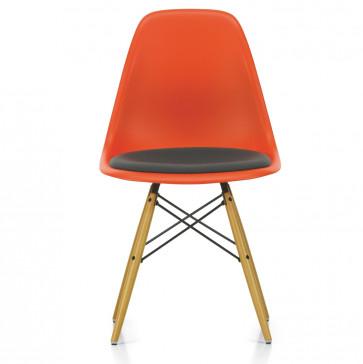 Vitra Eames Plastic Side Chair DSW met zitkussen