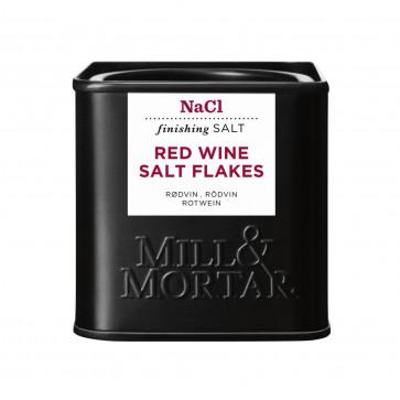 Mill & Mortar zout met rode wijn
