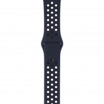 Apple Watch sportbandje van Nike obsidiaan/zwart