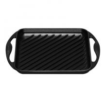 Le Creuset vierkante grillpan zwart