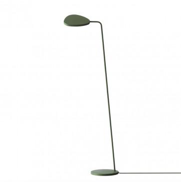 Muuto Leaf vloerlamp groen
