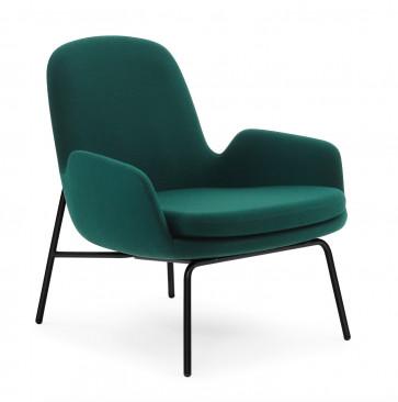 Normann Copenhagen Era Lounge Chair Low staal