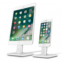 Twelve South HiRise 2 Deluxe iPhone iPad iPod Lightning dock zilver