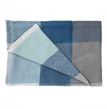 Muuto Loom plaid blauw