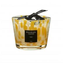Baobab geurkaars citrine Pearls Max 10