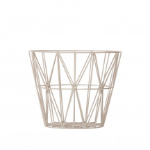 Ferm Living Wire Basket medium grijs