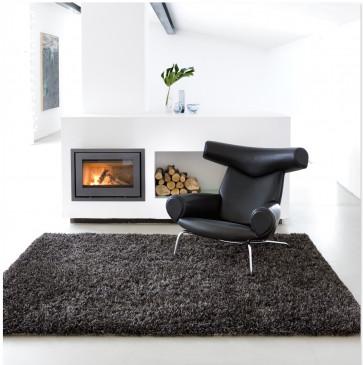 Linie Design Essentials tapijt Ronaldo grijs