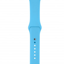 Apple Watch sportbandje blauw