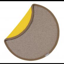 Vitra zitkussen Seat Dot crème/terra