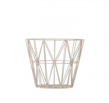 Ferm Living Wire Basket small grijs