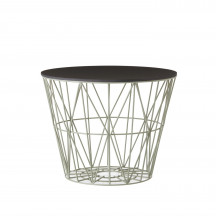 Ferm Living Wire Basket Table medium dusty green