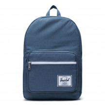 Herschel rugzak Pop Quiz blue mirage crosshatch