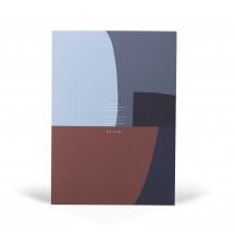 Notem Studio Notepad Jo blauw