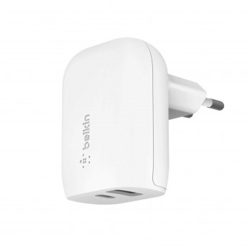 Belkin 30W USB-C + USB-A-stroomadapter