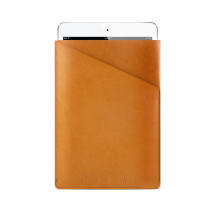 Mujjo Slim Fit Sleeve iPad mini bruin