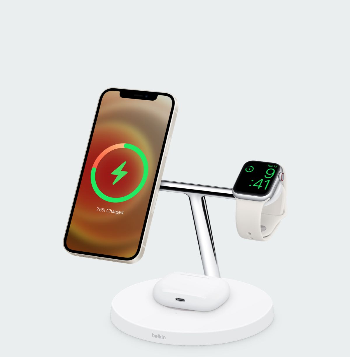 Belkin Boost Charge Pro 3-in-1 draadloze lader met MagSafe Ninove